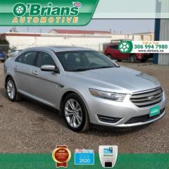 Used 2013 Ford Taurus SEL w/Command Start, Leather, Heated Seats, Cruise for sale in Saskatoon, SK