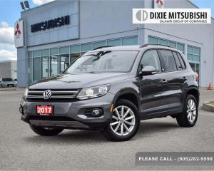 Used 2017 Volkswagen Tiguan 4Motion for sale in Mississauga, ON