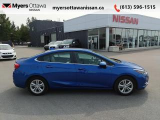 Used 2018 Chevrolet Cruze LT  - Bluetooth -  Heated Seats - $105 B/W for sale in Ottawa, ON