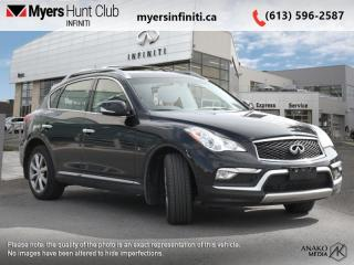 Used 2017 Infiniti QX50 Base  - Leather Seats -  Heated Seats for sale in Ottawa, ON