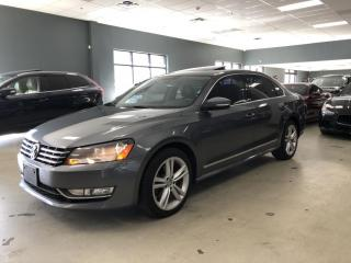 Used 2014 Volkswagen Passat 2.0L TDI*HIGHLINE*NAVIGATION*BACK-UP CAMERA*NO ACC for sale in North York, ON