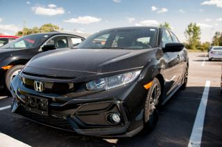 New 2020 Honda Civic HB Sport CIVIC 5 DOORS for sale in Woodstock, ON