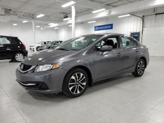 Used 2015 Honda Civic EX - CAMERA + TOIT + SIEGES CHAUFFANTS !!! for sale in St-Eustache, QC