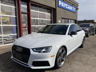 Used 2018 Audi A4 Sedan TECHNIK for sale in Kitchener, ON