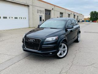 Used 2011 Audi Q7 3.0L SPORT | S-LINE | PANO | NAVI | BU CAM for sale in Burlington, ON