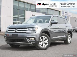 Used 2018 Volkswagen Atlas Comfortline 3.6 FSI  - Bluetooth for sale in Kanata, ON