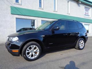 Used 2010 BMW X3 5028i 4 portes à traction intégrale for sale in St-Jérôme, QC
