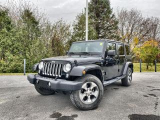 Used 2018 Jeep Wrangler JK Unlimited Sahara for sale in Embrun, ON