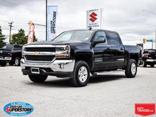 Used 2017 Chevrolet Silverado 1500 LT CREW CAB 4X4 for sale in Barrie, ON