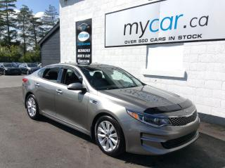 Used 2016 Kia Optima EX LEATHER, SUNROOF, HEATED PWR SEAT, BACKUP CAM!! for sale in Richmond, ON