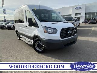 Used 2018 Ford Transit T-150 XLT REAR WHEEL CHAIR LIFT INCLUDED. for sale in Calgary, AB