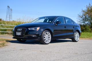 Used 2016 Audi A3 2.0T Technik *LEATHER* *NAVIGATION* *MEMORY SEATS* *PARK ASSIST* for sale in Surrey, BC