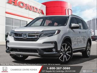 New 2021 Honda Pilot Touring 7P LEATHER INTERIOR | GPS NAVIGATION | POWER TAILGATE for sale in Cambridge, ON