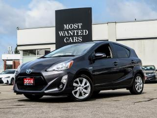 Used 2016 Toyota Prius c C|HB|NAV|LEATHER|SUNROOF|CAMERA for sale in Kitchener, ON