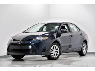 Used 2017 Toyota Corolla CVT LE ASSISTANCE DES VOIES CAMÉRA DE RECUL for sale in Brossard, QC