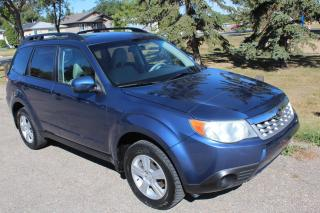 Used 2011 Subaru Forester 2.5 X Convenience Package PREMIUM ALL WHEEL DRIVE LOW KM for sale in Regina, SK