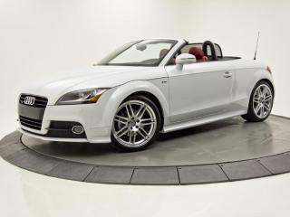 Used 2015 Audi TT CONVERTIBLE QUATTRO S-LINE INTÉRIEUR ROUGE for sale in Brossard, QC