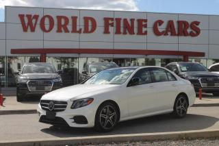 Used 2020 Mercedes-Benz E-Class | LOW Mileage! | 4Matic AWD for sale in Etobicoke, ON