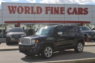 Used 2015 Jeep Renegade Limited   *Accident Free*   Ontario Local   4x4! for sale in Etobicoke, ON