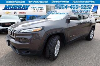 Used 2017 Jeep Cherokee *New Tires*Heated Seats and Steering* Remote Start for sale in Brandon, MB