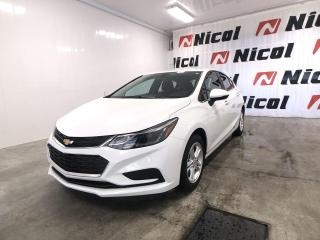 Used 2017 Chevrolet Cruze UNKNOWN Très bas kilométrage !! for sale in La Sarre, QC