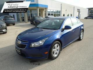 Used 2012 Chevrolet Cruze LT Turbo OnStar - SiriusXM - Bluetooth for sale in Steinbach, MB