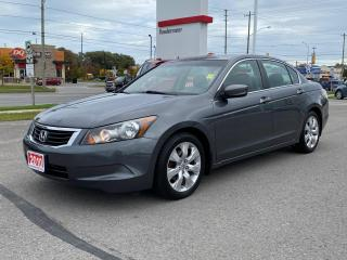 Used 2010 Honda Accord EX-SUNROOF+PWR SEAT+CERTIFIED! for sale in Cobourg, ON