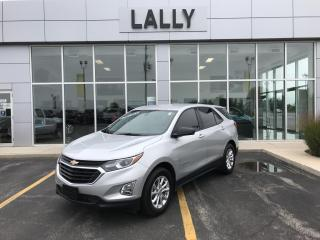 Used 2019 Chevrolet Equinox Remote start, heated seats, Back-up Camera for sale in Tilbury, ON