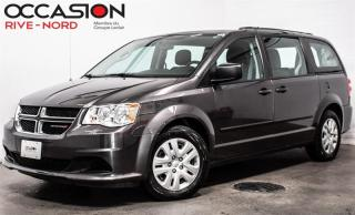 Used 2016 Dodge Grand Caravan CVP STOW'N'GO for sale in Boisbriand, QC