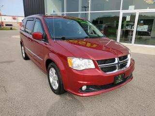 Used 2016 Dodge Grand Caravan Crew 1 OWNER, LOW KM, DVD, NAV, HTD Seats! for sale in Ingersoll, ON
