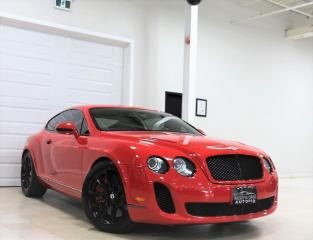 Used 2010 Bentley Continental SUPERSPORTS NAVIGATION REAR VIEW CAMERA AWD for sale in North York, ON