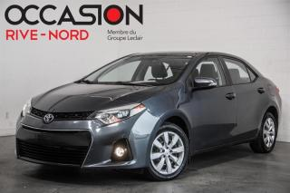 Used 2014 Toyota Corolla S SIEGES.CHAUFFANTS+CAM.RECUL+BLUETOOTH for sale in Boisbriand, QC