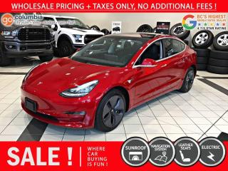 Used 2019 Tesla Model 3 Model 3 - No Accident / Local / Nav for sale in Richmond, BC