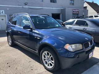 Used 2004 BMW X3 2.5i for sale in Scarborough, ON
