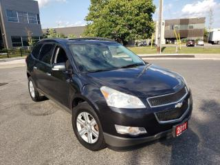 Used 2011 Chevrolet Traverse DVD, 7 Passengers, 3/Y Warranty Availab for sale in Toronto, ON