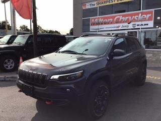 New 2021 Jeep Cherokee TRAILHAWK ELITE 4X4 / TOW PKG / NAV for sale in Milton, ON