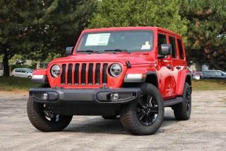 New 2021 Jeep Wrangler Unlimited for sale in Waterloo, ON