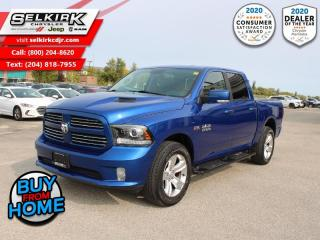 Used 2017 RAM 1500 Sport - Bluetooth -  SiriusXM -  Fog Lamps for sale in Selkirk, MB