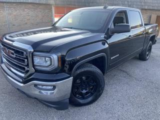 Used 2017 GMC Sierra 1500 4WD Crew Cab SLE HEATED & COOLED SEATS, B/CAM, T/BRAKE CONT for sale in Calgary, AB