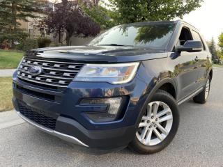 Used 2016 Ford Explorer FWD 4dr XLT, 2.3 ecoboost, 7 passenger, autostarter,p/tailg for sale in Calgary, AB