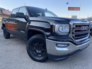 Used 2017 GMC Sierra 1500 4WD Crew Cab SLE, HEATED & COOLED SEATS, B/CAM, T/BRAKE CONT for sale in Calgary, AB