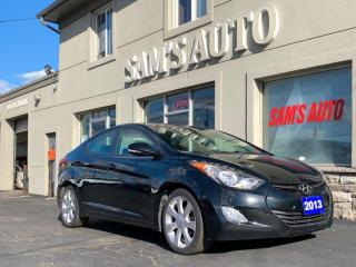 Used 2013 Hyundai Elantra 4DR SDN for sale in Hamilton, ON