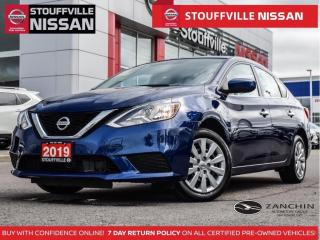 Used 2019 Nissan Sentra SV  HTD STS  Push Button Start  Clean Carfax for sale in Stouffville, ON