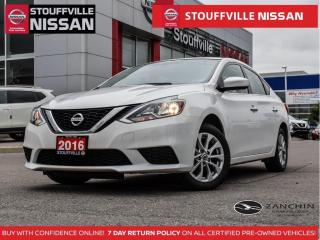 Used 2016 Nissan Sentra SV  Alloys  HTD STS  Push Button  NO Accidents for sale in Stouffville, ON