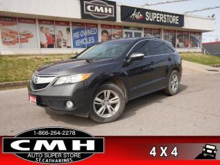 Used 2014 Acura RDX Technology  AWD CAM NAV BT HTD-SEATS W/MEM for sale in St. Catharines, ON