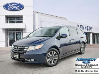Used 2015 Honda Odyssey Touring w/RES & Navi for sale in Oakville, ON