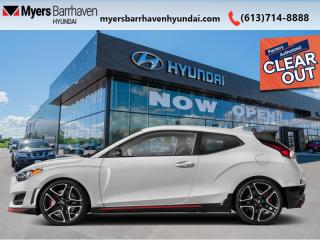 New 2020 Hyundai Veloster N Performance  - Heated Seats - $208 B/W for sale in Nepean, ON