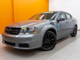 Used 2013 Dodge Avenger BLACKTOP *AUTOMATIQUE* A/C *BLUETOOTH* USB *PROMO for sale in Mirabel, QC
