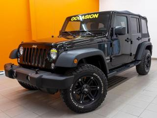 Used 2016 Jeep Wrangler SPORT 4X4 *ALL-TERRAIN* HITCH *REG. VITESSE* PROMO for sale in Mirabel, QC