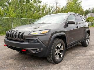 Used 2016 Jeep Cherokee TRAILHAWK V6 4X4 *SIEGES CHAUF* GR. REMORQ *PROMO for sale in Mirabel, QC